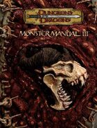 Monster Manual III (3.5)