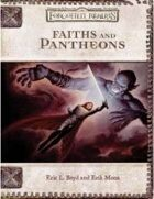 Faiths and Pantheons (3e)