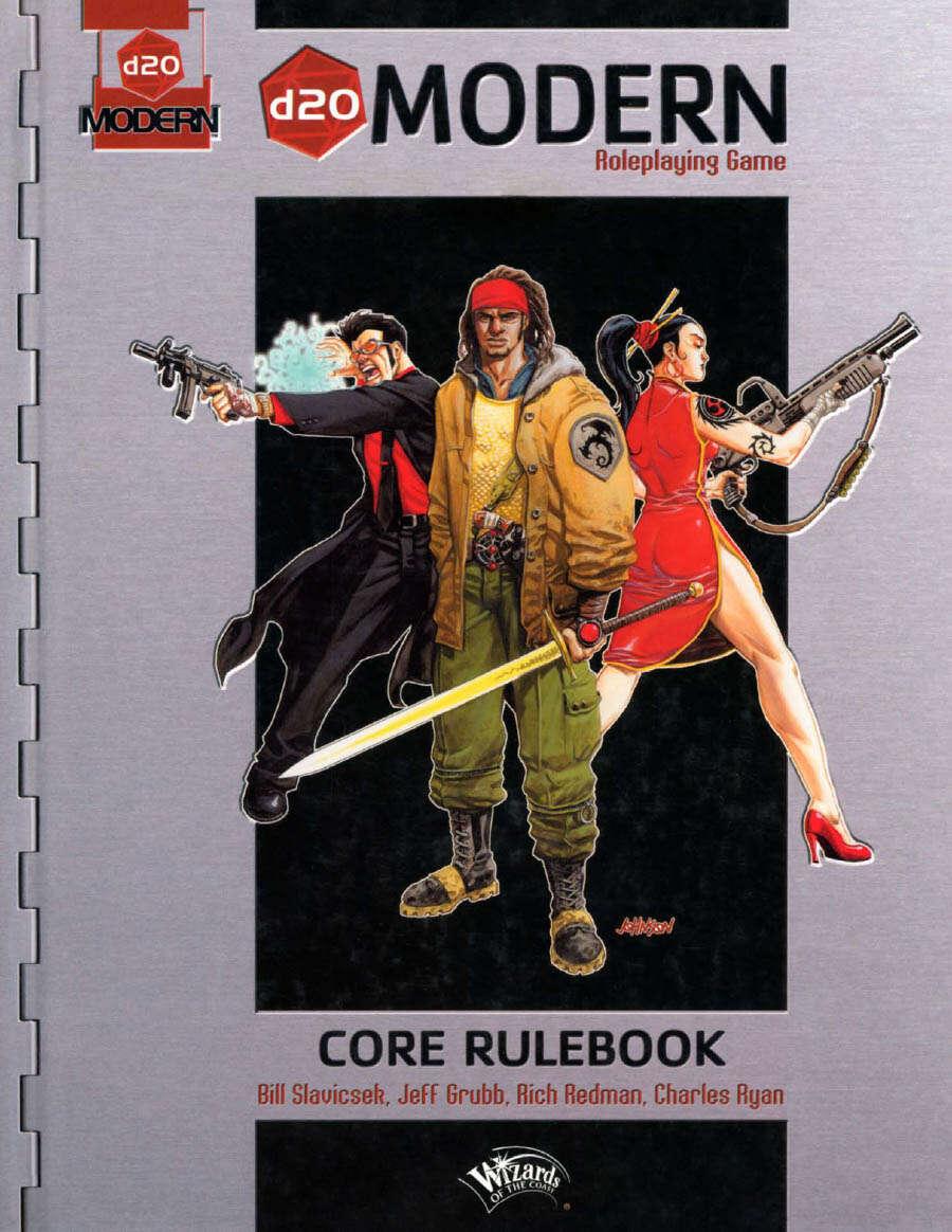 d20 Modern Core Rulebook (d20M)