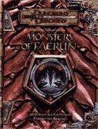 Monster Compendium: Monsters of Faerûn (3e)