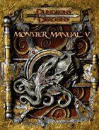 Monster Manual V (3.5)