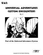 Universal Adventures Custom Encounters