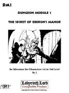 DM1 The Secret of Eberon's Manor