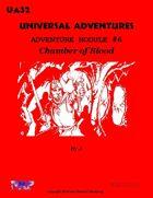 Universal Adventures Adventure Module #6 Chamber of Blood