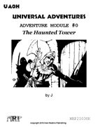 Universal Adventures Adventure Module #0 The Haunted Tower