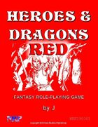 Heroes & Dragons Red