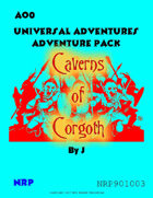 AO0 Caverns of Corgoth Adventure Pack
