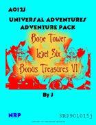 AO12J Bone Tower Bonus Treasures VI
