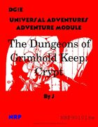 DG1e The Dungeons of Grimhold Keep: Crypt