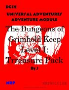 DG1H The Dungeons of Grimhold Keep, Level 1: Treasure Pack