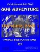 d66 Adventure Treasure Pack I