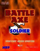 Battle Axe: Soldier