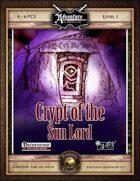A01: Crypt of the Sun Lord (Fantasy Grounds)