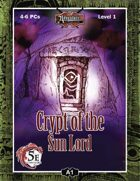 (5E) A01: Crypt of the Sun Lord