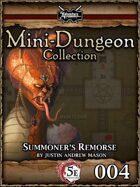 5E Mini-Dungeon #004: Summoner's Remorse