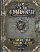 The Art of Into the Wintery Gale