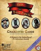 (5E) Heir & Back Again -- Character Cards