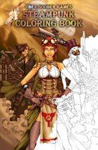 Über Goober Games Steampunk Coloring Book