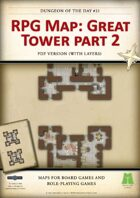 RPG Map 022: Great Tower Part 2 (pdf)