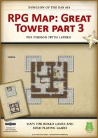 RPG Map 023: Great Tower Part 3 (pdf)