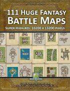 111 Huge Fantasy Battle Maps Collection