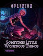 Sometimes Little Wondrous Things