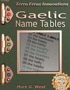 Gaelic Name Tables