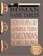 Roman Name Tables