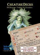 Creature Decks: 0e/1e RPG Dragons, Undead & Outsiders