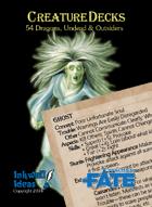 Creature Decks: Fate Core RPG Dragons, Undead & Outsiders