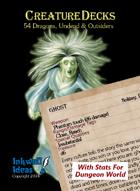 Creature Decks: Dungeon World RPG Dragons, Undead & Outsiders