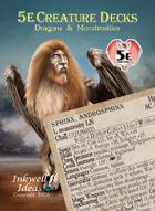 5e Creature Decks: Dragons & Monstrosities