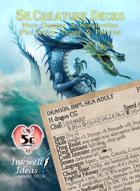 5e Creature Decks: More Dragons & Monstrosities