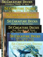5e Creature Decks (PDFs Only) [BUNDLE]