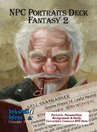 NPC Portraits Deck: Fantasy 2