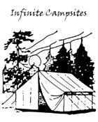 Infinite Campsites