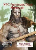 NPC Portraits Deck: Monsters