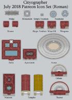 Cityographer Roman City Map Icons (Any Editor)