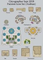 Cityographer Arabian City Map Icons (Any Editor)