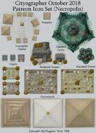 Cityographer Necropolis City Map Icons (Any Editor)