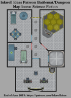 Dungeon/Battlemat Outer Space Map Icons (Any Editor)