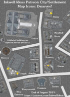 City/Village Dwarf Map Icons (Any Editor)