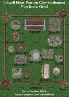City/Village Orc Map Icons (Any Editor)
