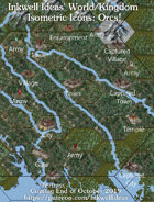 Worldographer Isometric Style Orc Map Icons