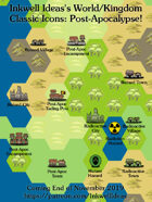 Hex/Worldographer Classic Style Post-Apocalyptic World Map Icons