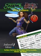 Creature Card Codex/Deck of Beasts: NPCs & Villains