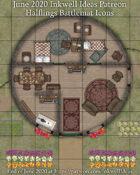 Worldographer Halflings Battlemat, Settlement, and World/Kingdom Map Icons