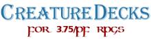Creature Decks 3.75/PF RPG