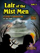 Lair of the Mist Men (DCC RPG)