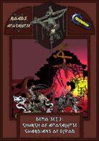 Roads of Apocalypse (4th ed.) - Demo-set 3: Church of Apocalypse. Guardians of Blood